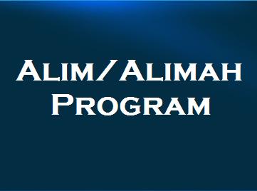 Alim/Alimah Program