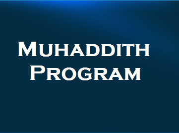 Muhaddith Program